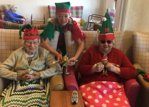Elf Day at Hollybank Care home